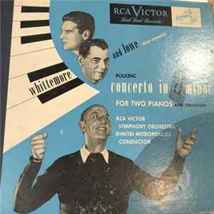 Whittemore & Lowe - Poulenc: Concerto In D Minor For Two Pianos And Orchestra flac