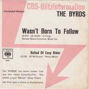 The Byrds - Wasn't Born To Follow flac